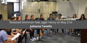Julianne Tanella Released Smmrrain feat. Jager Henry on May 21st